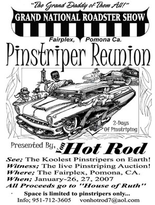 The Von Pinstriping Reunion